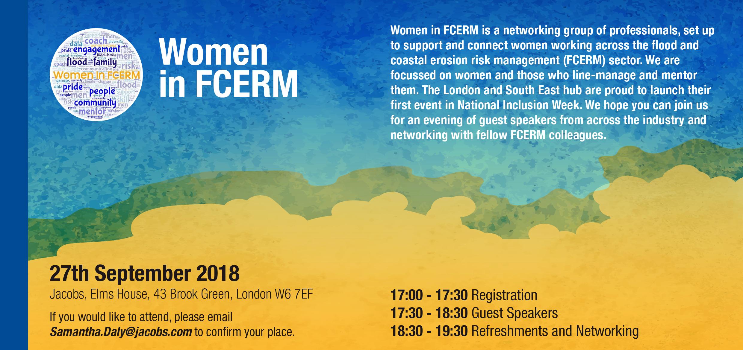 Women in FCERM Invitation 2018